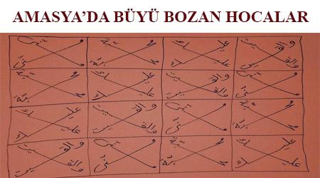 Amasya'da büyü bozan hocalar